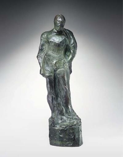 Sandro CHIA - Sculpture-Volume - Ragazzo e Zanna