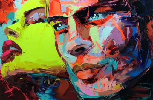 Françoise NIELLY - Painting - Quiproquo