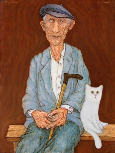 Roman ANTONOV - Peinture - Old man