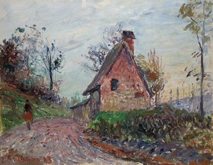 Camille PISSARRO, The countryside near Rouen