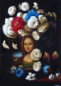 ornamento analizar papa  Leonardo by | Nikas SAFRONOV | buy art online | artprice