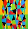 Jay Jesse MCVICKER (1911-2004) - Geometric Abstraction