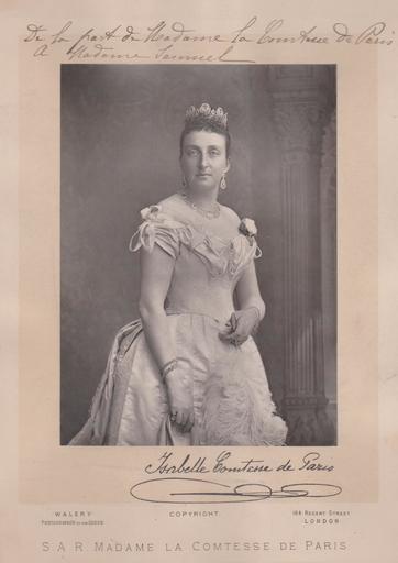 Lucien WALÉRY - Fotografie - Isabelle - Comtesse de Paris