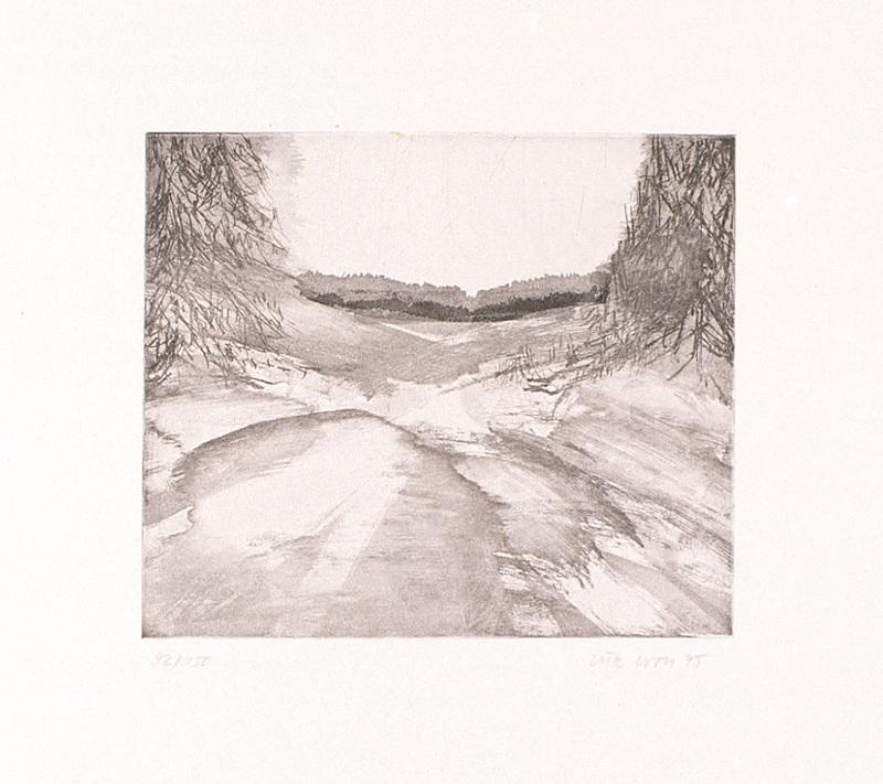 Lutz WOLF - Estampe-Multiple - Landschaft