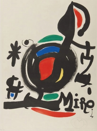Joan MIRO - Estampe-Multiple - Ocell de l'allbada