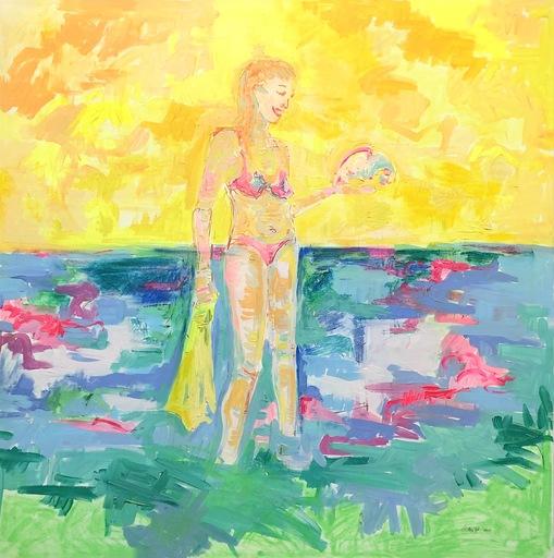 Nicole LEIDENFROST - Gemälde - Schnorchelausflug