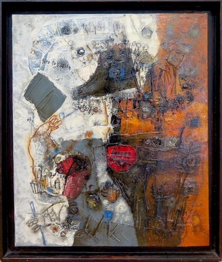 Théo TOBIASSE - Painting - Le promeneur