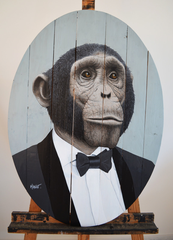 MANAT - Painting - Sir henry Blackburry