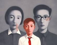 张晓刚 - 版画 - My Big Family