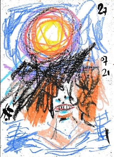 Harry BARTLETT FENNEY - Drawing-Watercolor - a delightful sagittarius 4 (27 07 21)