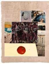 罗伯特•劳森伯格 - 版画 - Horsefeathers thirteen VIII