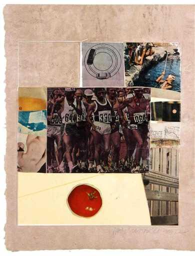 Robert RAUSCHENBERG - Stampa-Multiplo - Horsefeathers thirteen VIII