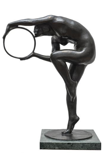 Ercole DREI - Escultura - Danzatrice con il cerchio