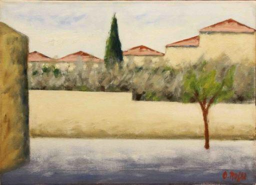 Ottone ROSAI - Peinture - PAESAGGIO