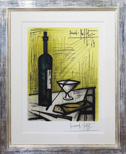 Bernard BUFFET - Print-Multiple - Le pain et le vin - Bread and wine