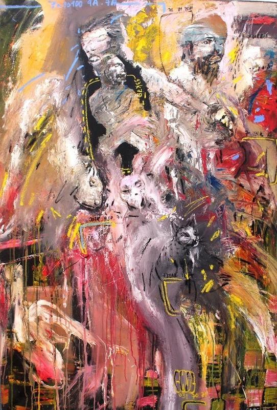 Soly CISSÉ - Painting - universe