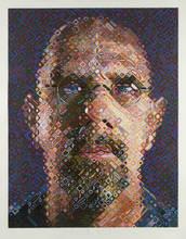 Chuck CLOSE - Estampe-Multiple - Self Portrait