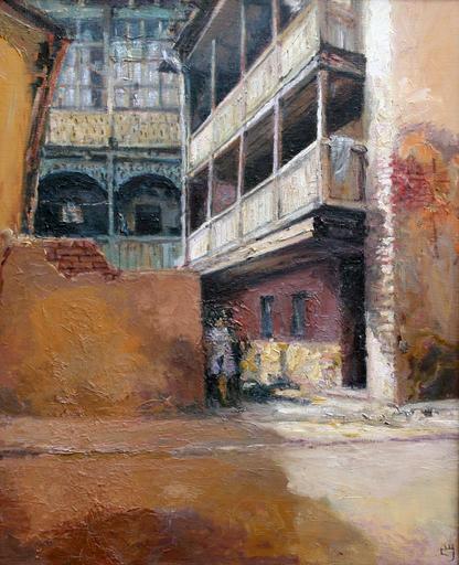 Levan URUSHADZE - Pintura - Sololaki. Tbilisi