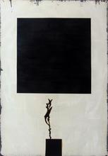 Larry ABRAMSON - Gemälde - Untitled [Square]