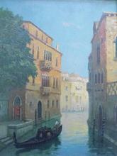 Adrian DINGLE - Peinture - Palais vénitien.