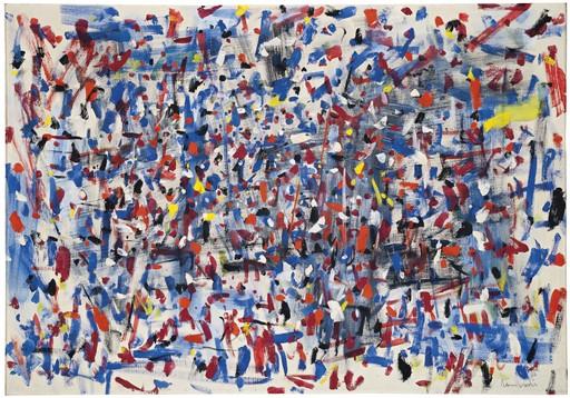 Tancredi PARMEGGIANI - Peinture - Senza titolo