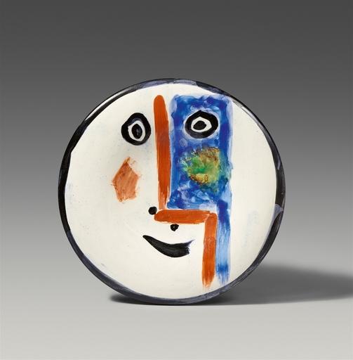Pablo PICASSO - Ceramic - Visage no.193
