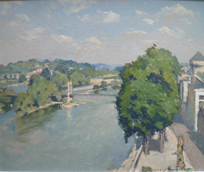 Louis ROLLET - Painting - MARINE