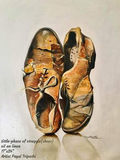 Payal TRIPATHI - Painting - Phase of struggle