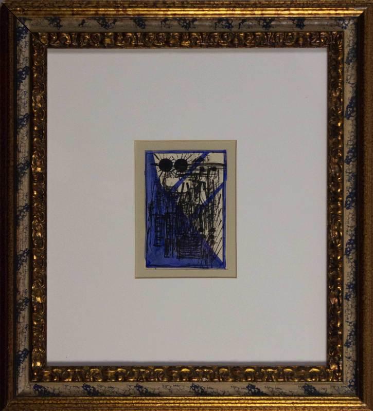 Enrico DELLA TORRE - Zeichnung Aquarell - Allucinazione