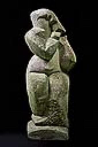 Pablo CURATELLA MANES - Sculpture-Volume - Femme Debout