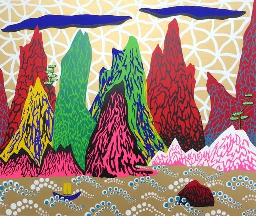 Yayoi KUSAMA - Stampa Multiplo - The Yangtze River