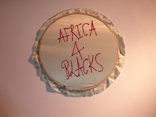 "Frances GOODMAN - Sculpture-Volume - Embroideries ""Africa 4 Blacks"""