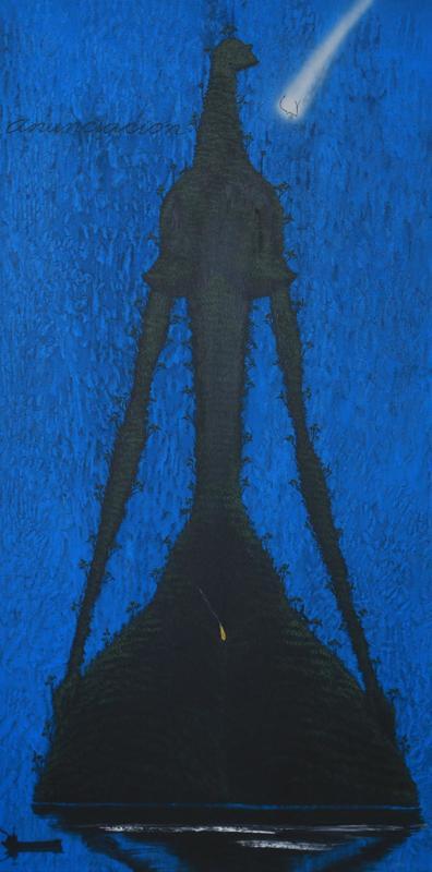 José BEDIA VALDÉS - Peinture - Anunciación