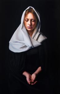 Javier ARIZABALO GARCIA - Painting - María