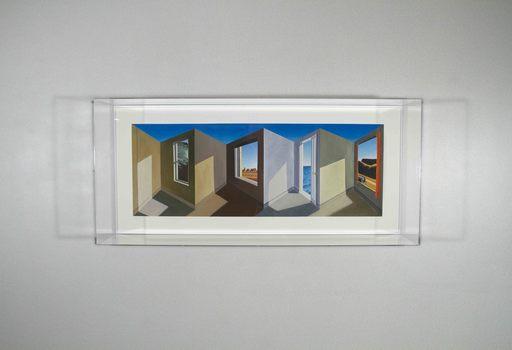 Patrick HUGHES - Print-Multiple - Hoppera