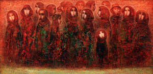 Amur KOCHISHVILI - Peinture - Walk