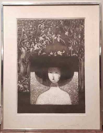 José LAZCARRO TOQUERO - 版画 - Sin Título