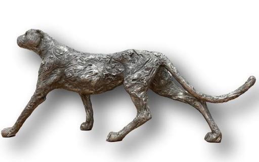 Christian MAAS - Sculpture-Volume - Guépard marchant grandeur nature