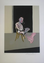 Francis BACON - Estampe-Multiple - Triptych August 1972, Right panel