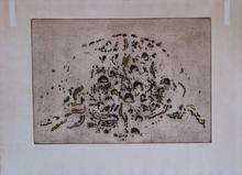 Zoran Antonio MUSIC - Print-Multiple - GRAVURE DALMATE SIGNÉE AU CRAYON NUM/75 HANDSIGNED ETCHING