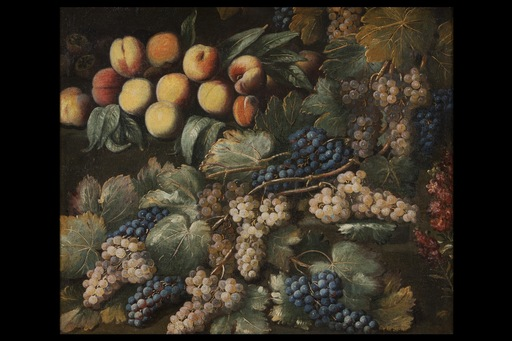 Antonio II GIANLISI - Painting - Still life with peaches