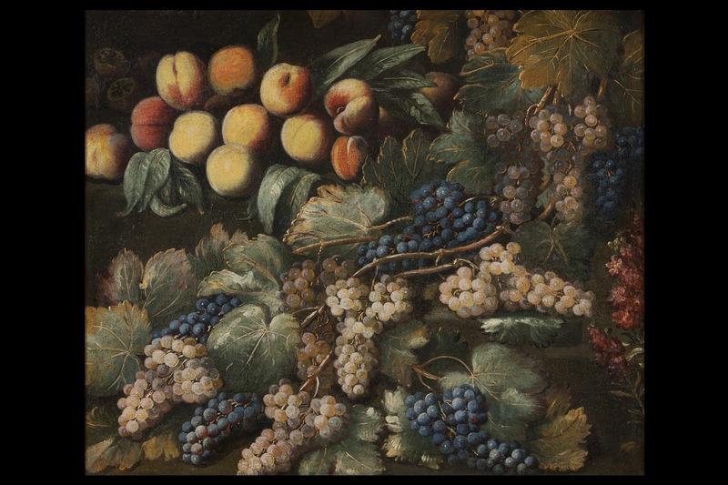 Antonio II GIANLISI - Pittura - Still life with peaches