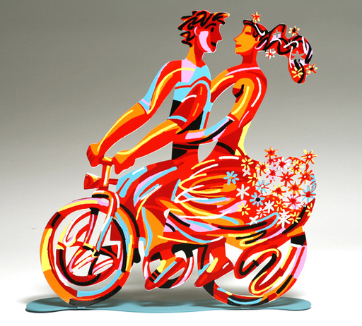 David GERSTEIN - Sculpture-Volume - Spring ride