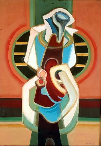 Mordechai ARIELI - Gemälde - Composition