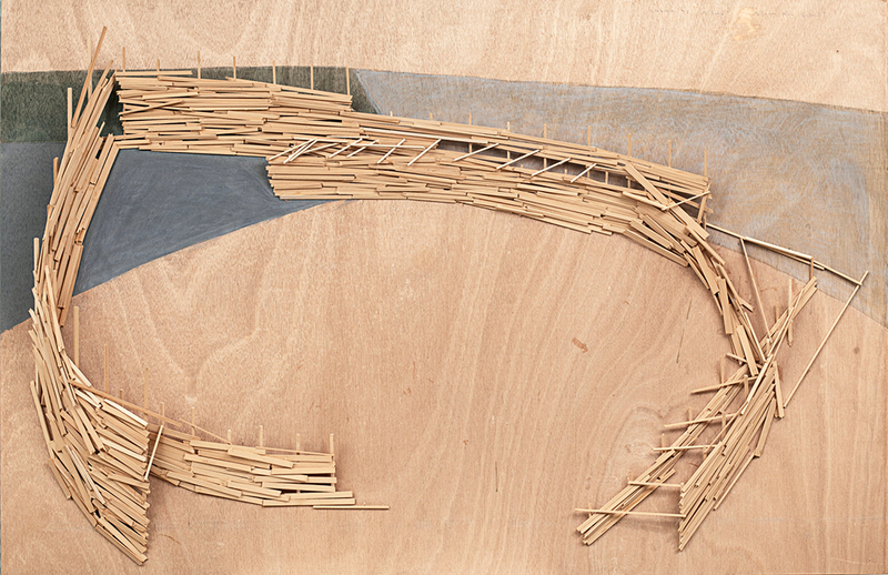 Tadashi KAWAMATA - Escultura - Mallorca Project Plan (B 3)