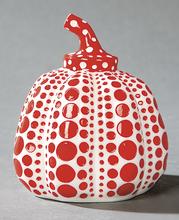 Yayoi KUSAMA - Sculpture-Volume - Pumpkin rouge