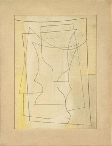 Ben NICHOLSON - Painting - Feb 10-2-52, 1952