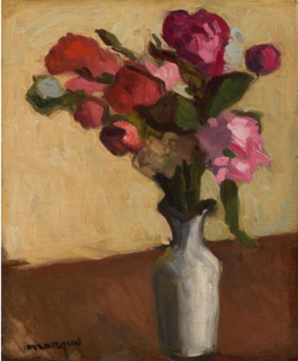 Albert MARQUET - Gemälde - Fleurs dans un vase