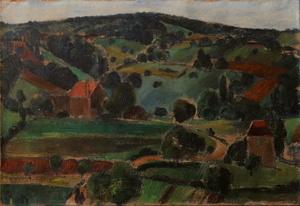 Maurice Louis SAVIN - Peinture - Paysage
