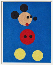 Damien HIRST (1965) - Mickey (Blue Glitter)